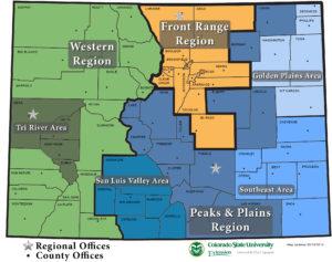 map of colorado regions