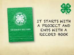 Record book image